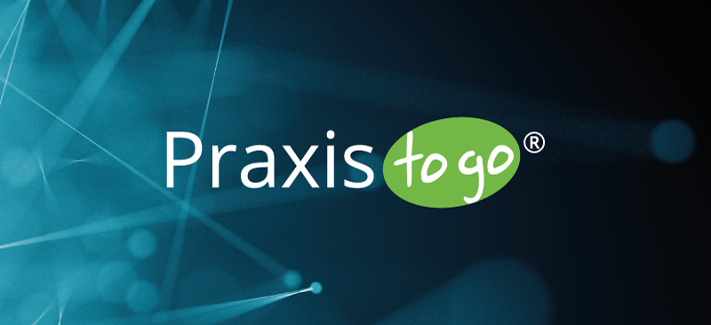 Praxis to go® is a registered EU trademark