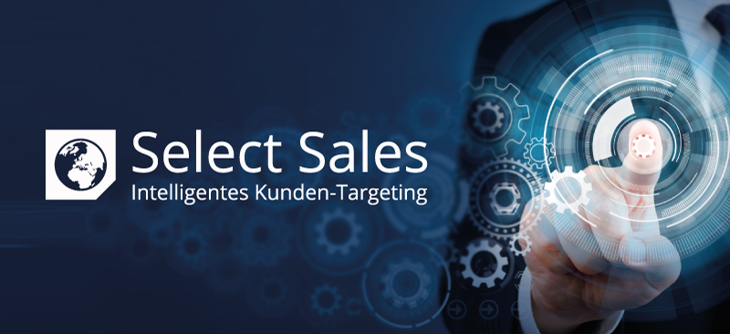"""""""Visual Analytics"""" in Marketing und Vertrieb - Select Sales von REBMANN RESEARCH ergänzt das klassische CRM um die ganzheitliche Marktsicht"""